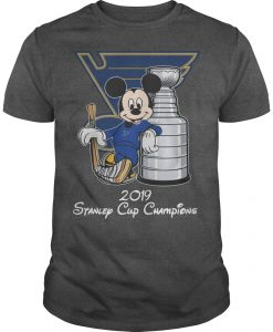 Mickey 2019 Stanley Cup Champions Shirt