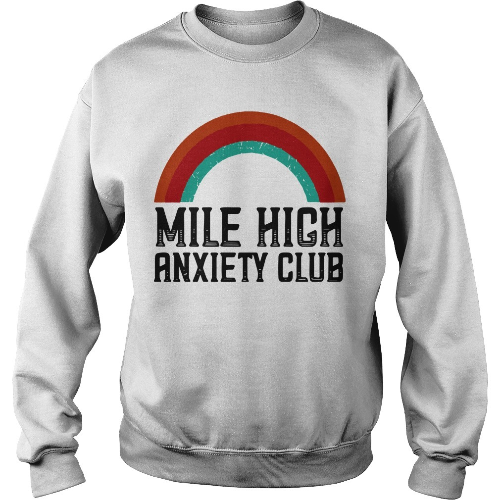 Mile High Anxiety Club Sweater