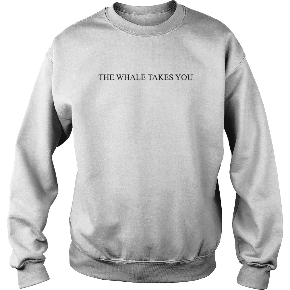 Minhyuk The Whale Takes You Sweater