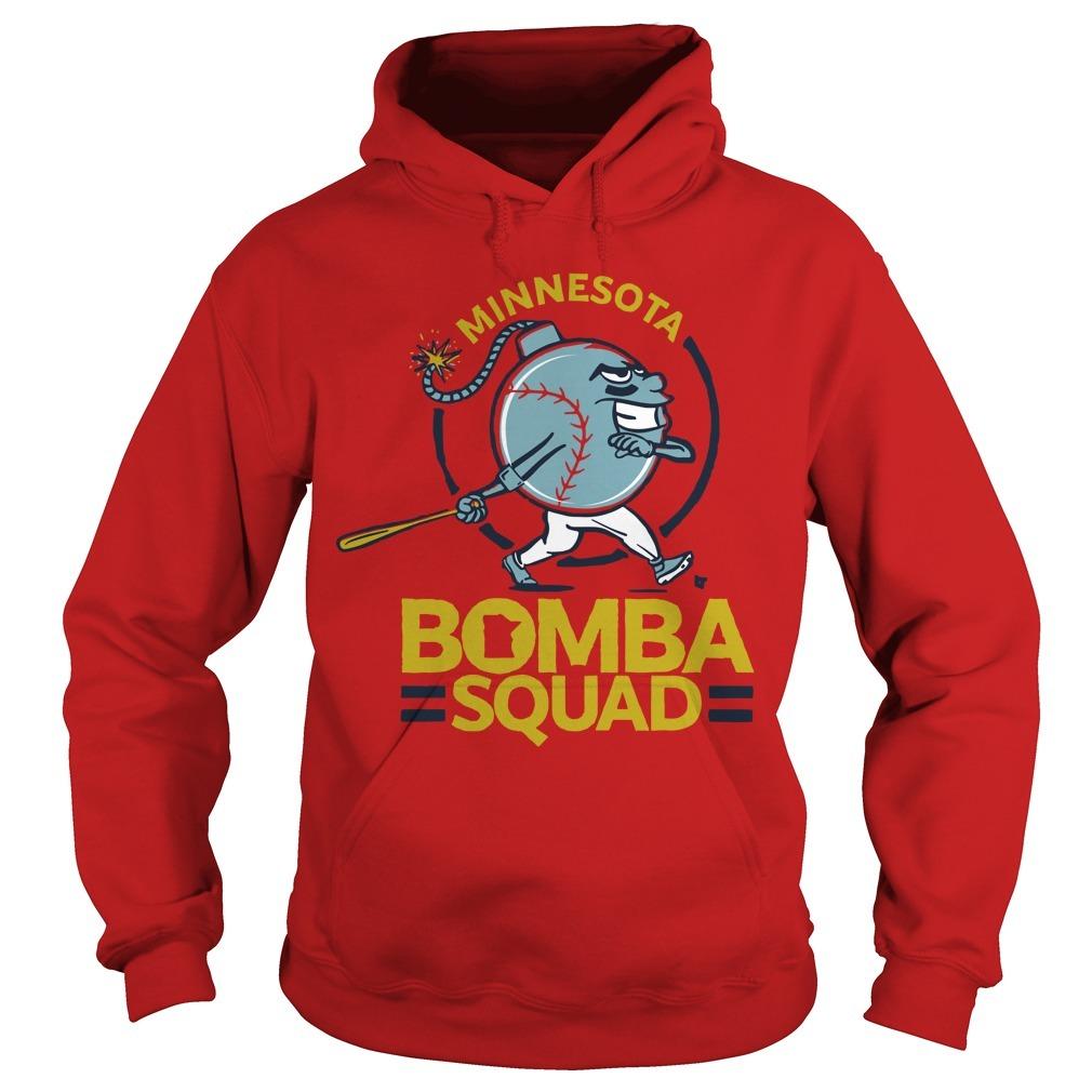 Minnesota Twins Bomba Squad Hoodie