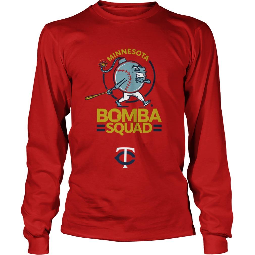 Minnesota Twins Bomba Squad Longsleeve Tee