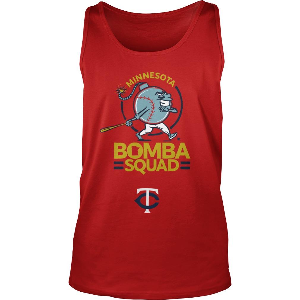 Minnesota Twins Bomba Squad TC Tank Top
