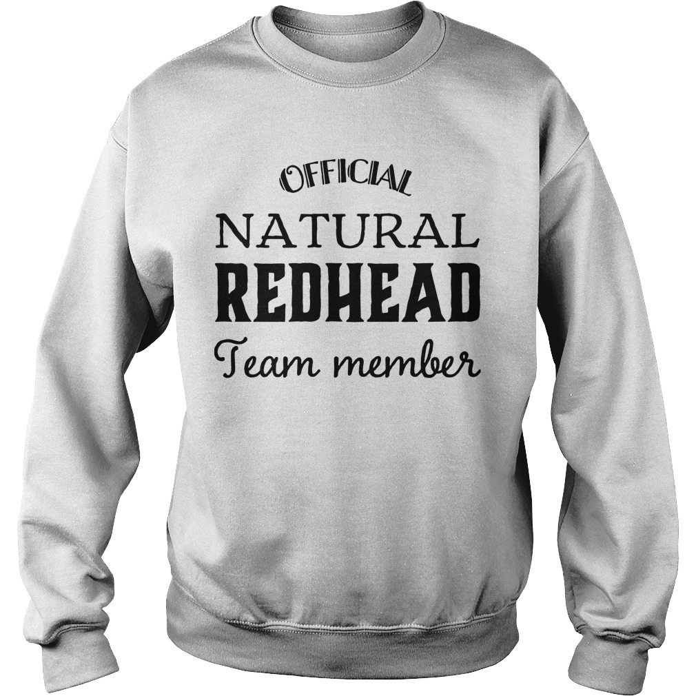 Official Natural Redhead Team Member Sweater