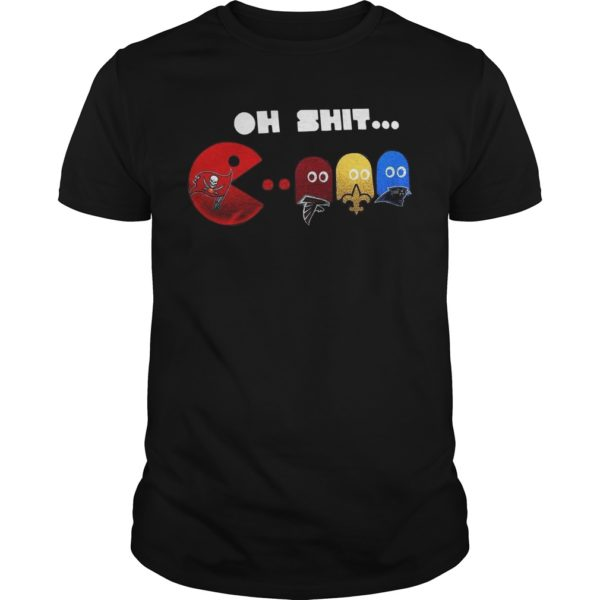 Oh Shit Pac Man Shirt