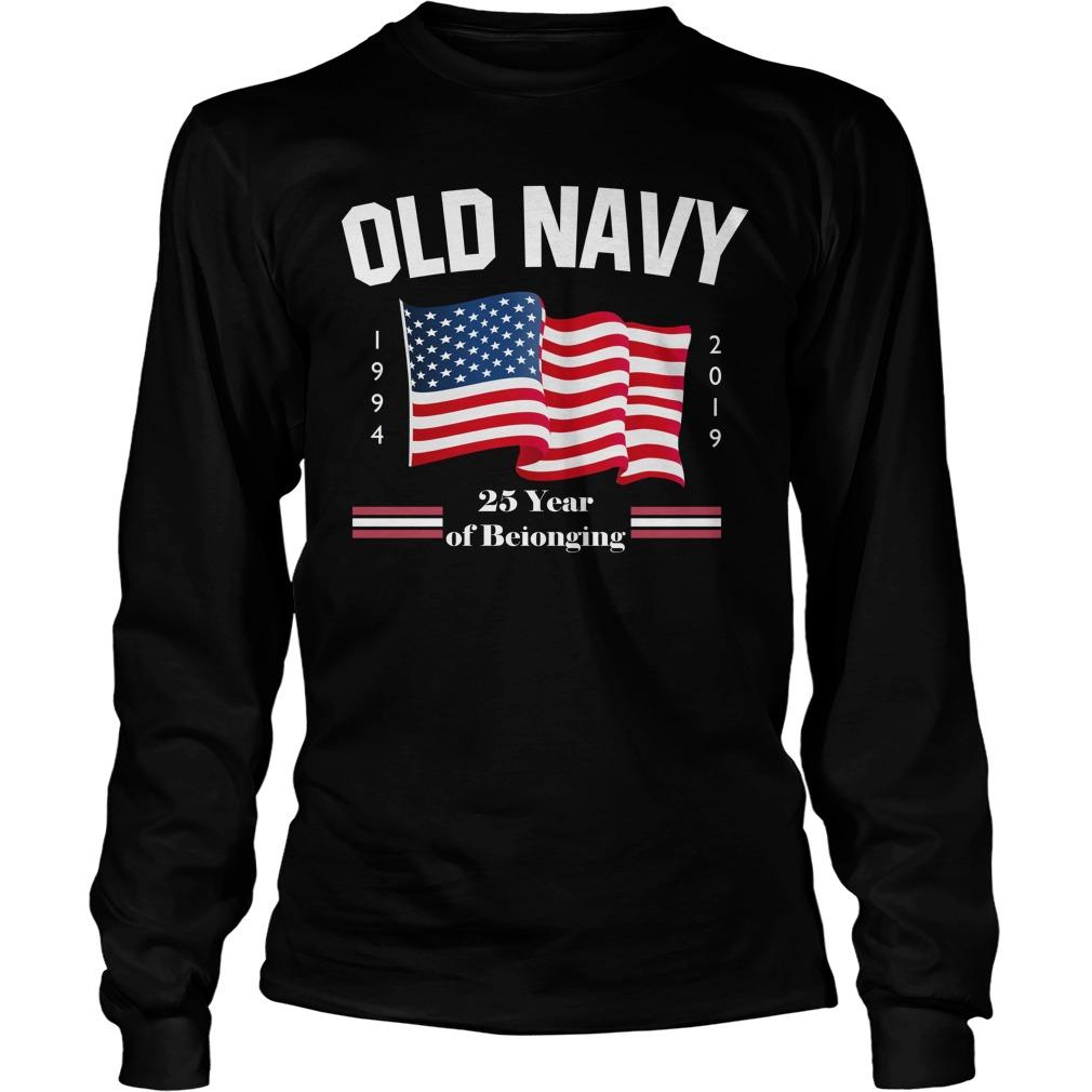 Old Navy Purple Longsleeve Tee