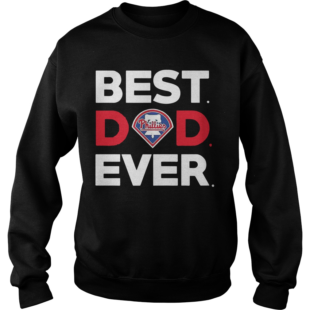Philadelphia Phillies Best Dad Ever Sweater