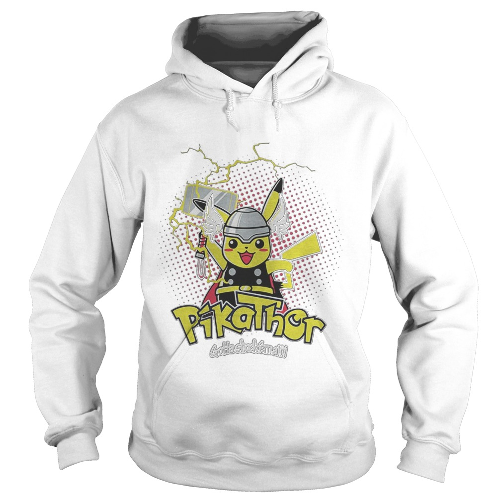 Pikathor Gotta Shock Em All Hoodie