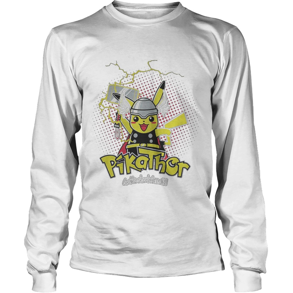 Pikathor Gotta Shock Em All Longsleeve Tee