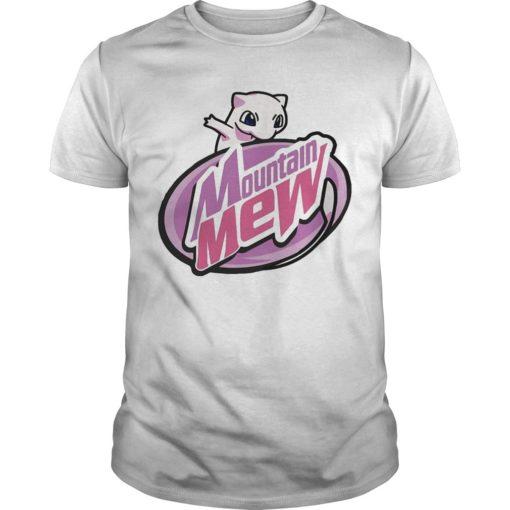 Pokemon Mountain Mew Shirt