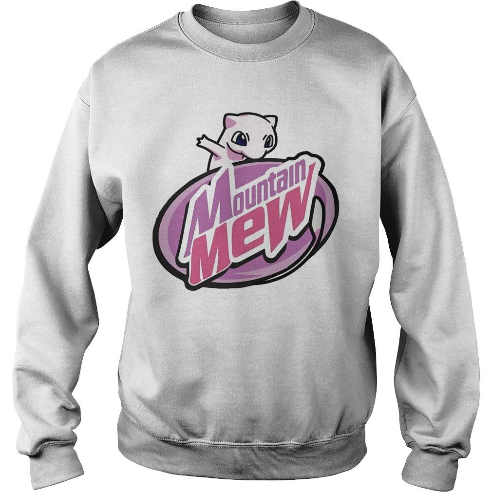 Pokemon Mountain Mew Sweater