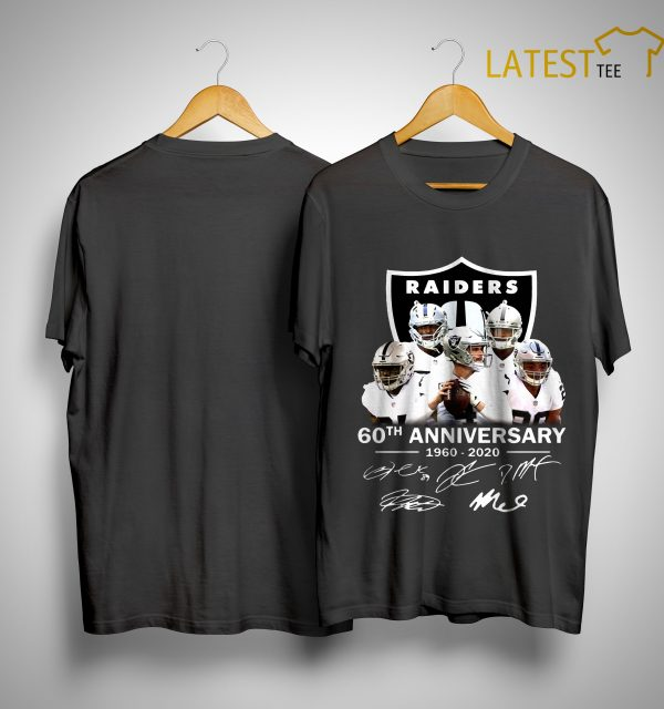 Raiders 60th Anniversary 1960 2020 Shirt