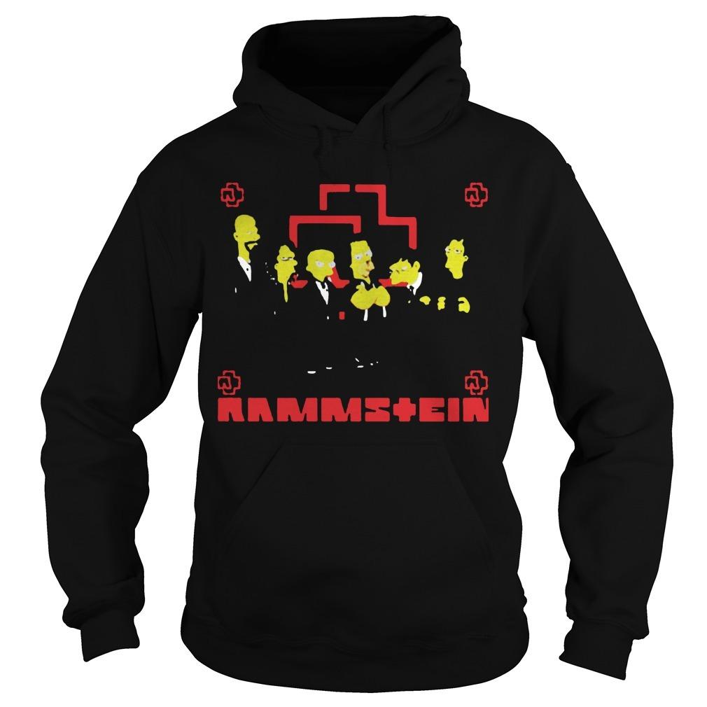 Rammstein Get The Simpsons Treatment Hoodie