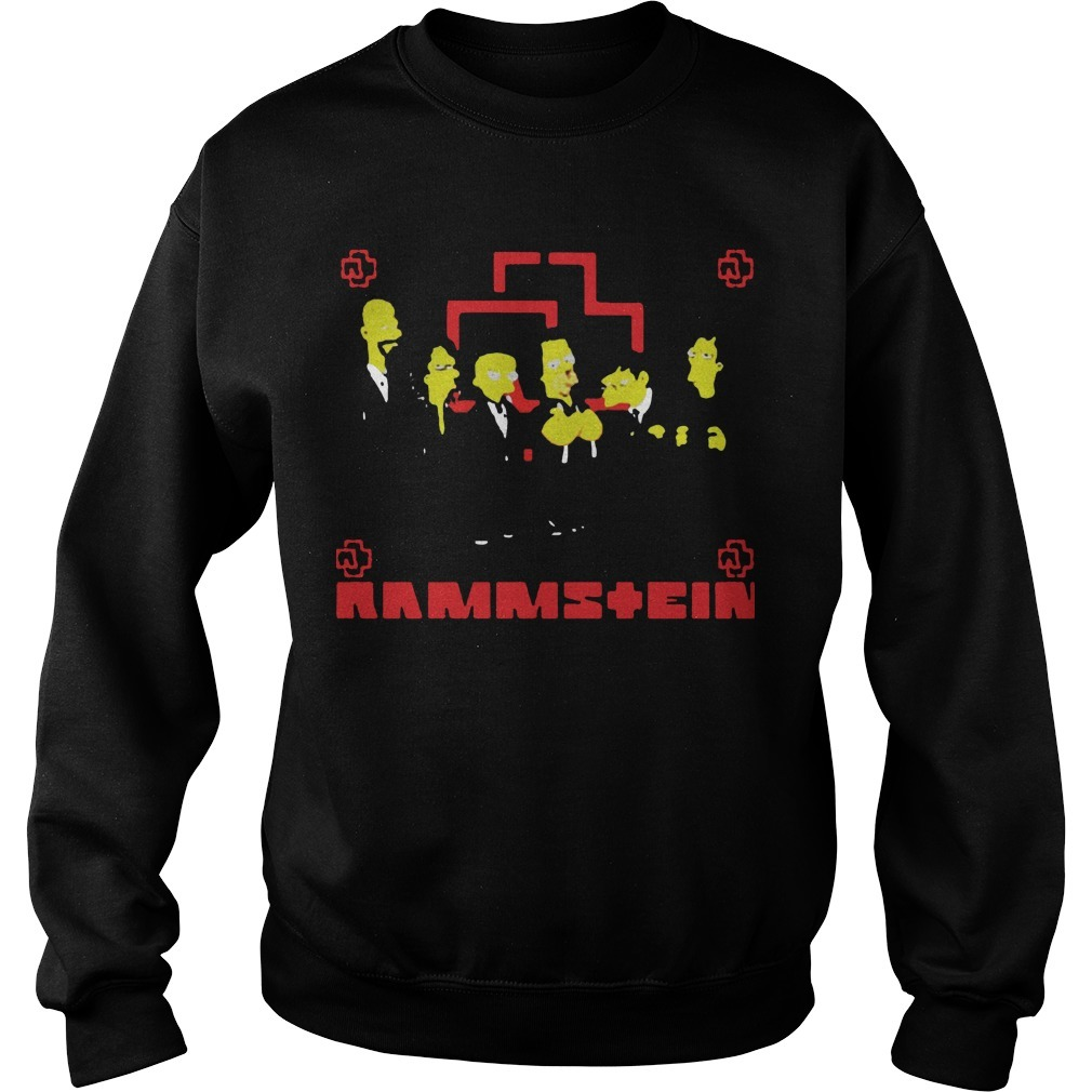 Rammstein Get The Simpsons Treatment Sweater