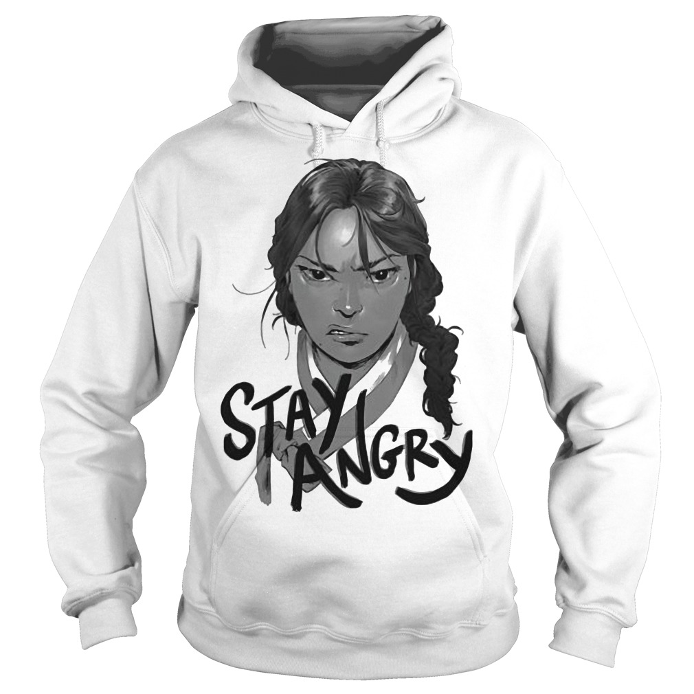 Randall Park And Ali Wong Always Be My Maybe Stay Angry Hoodie