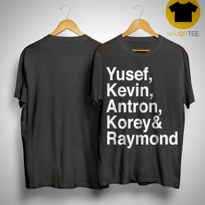 Raymond Santana Central Park 5 Shirt