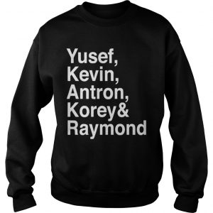 Raymond Santana Central Park 5 Sweater