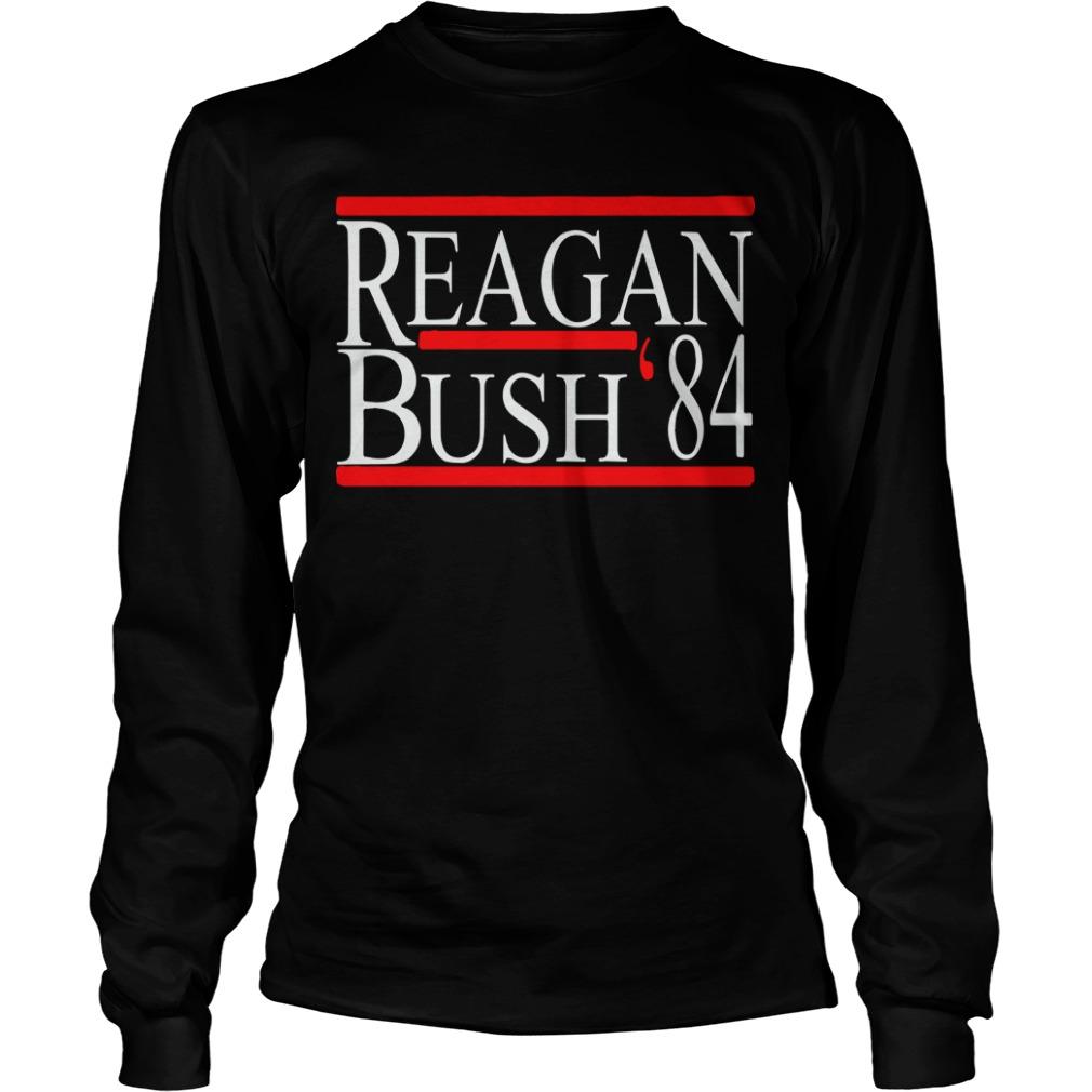 Reagan Bush 84 Longsleeve Tee