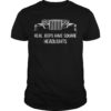 Real Jeeps Have Square Headlights Shirt
