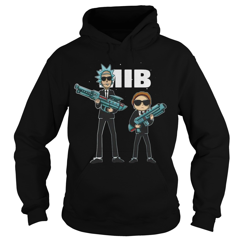 Rick And Morty MIB Movie Hoodie
