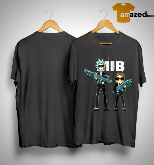 Rick And Morty MIB Movie Shirt