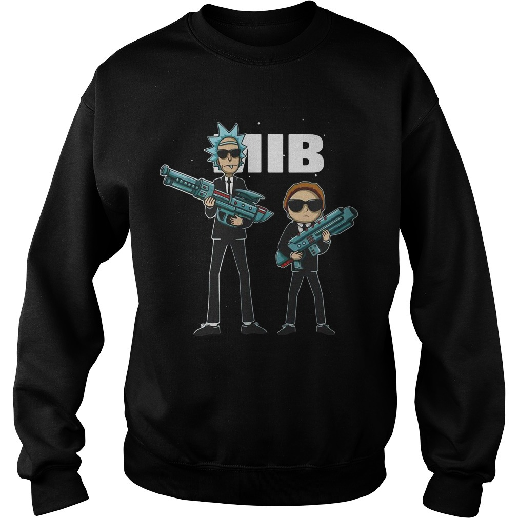 Rick And Morty MIB Movie Sweater