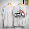 Rocketman Playing The Piano Signature Shirt
