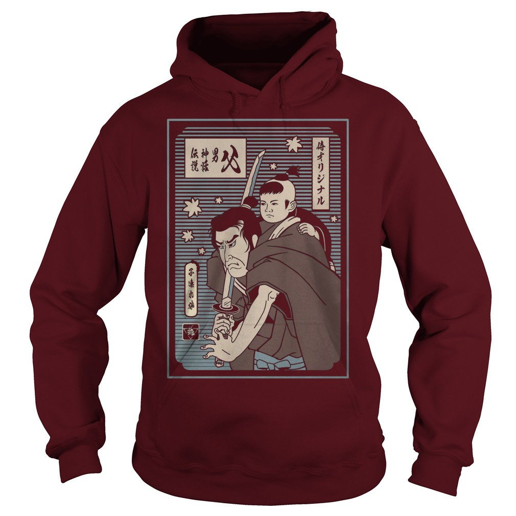 Samurai Papa The Man The Myth The Legend Hoodie
