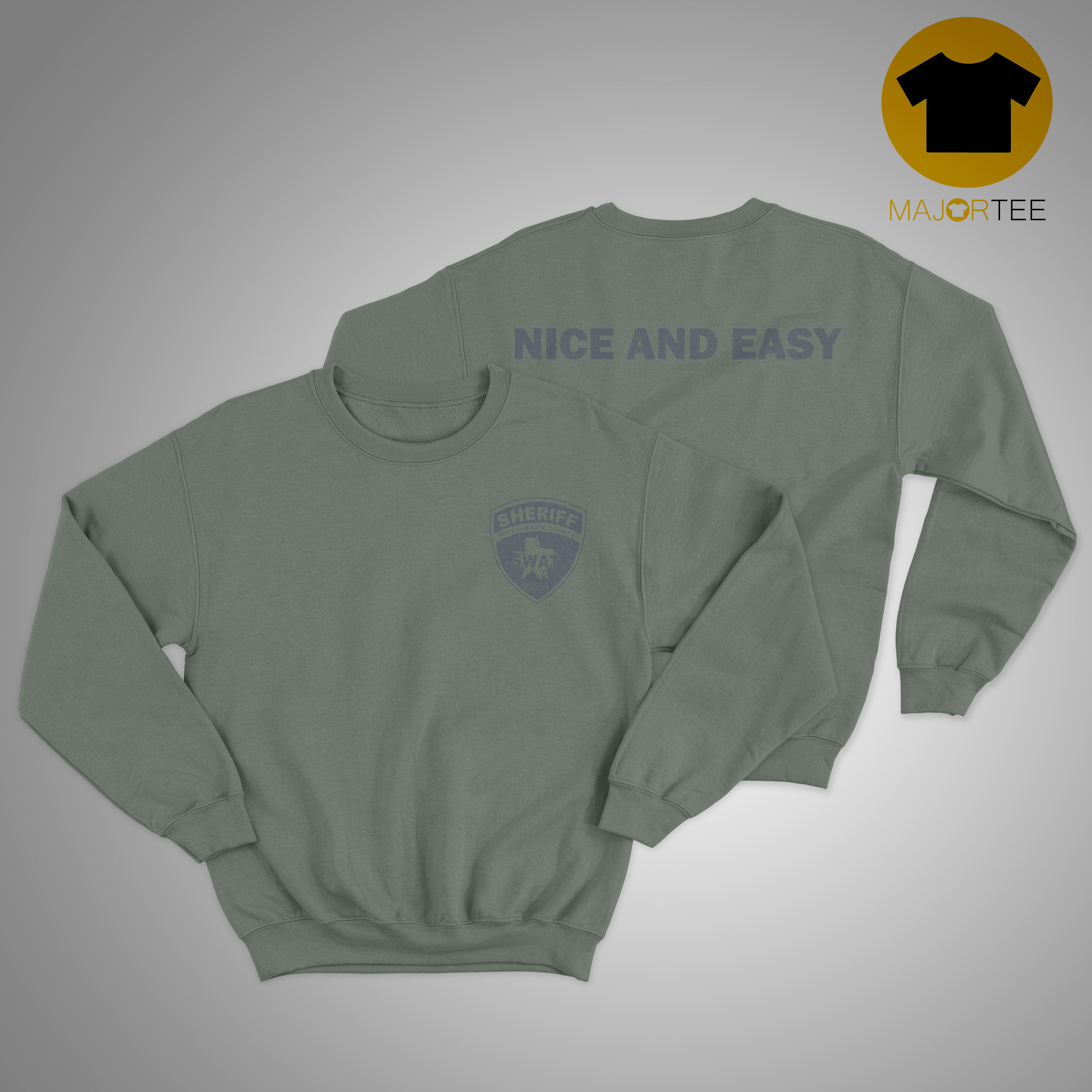 Sheriff Swat Nice And Easy Sweater