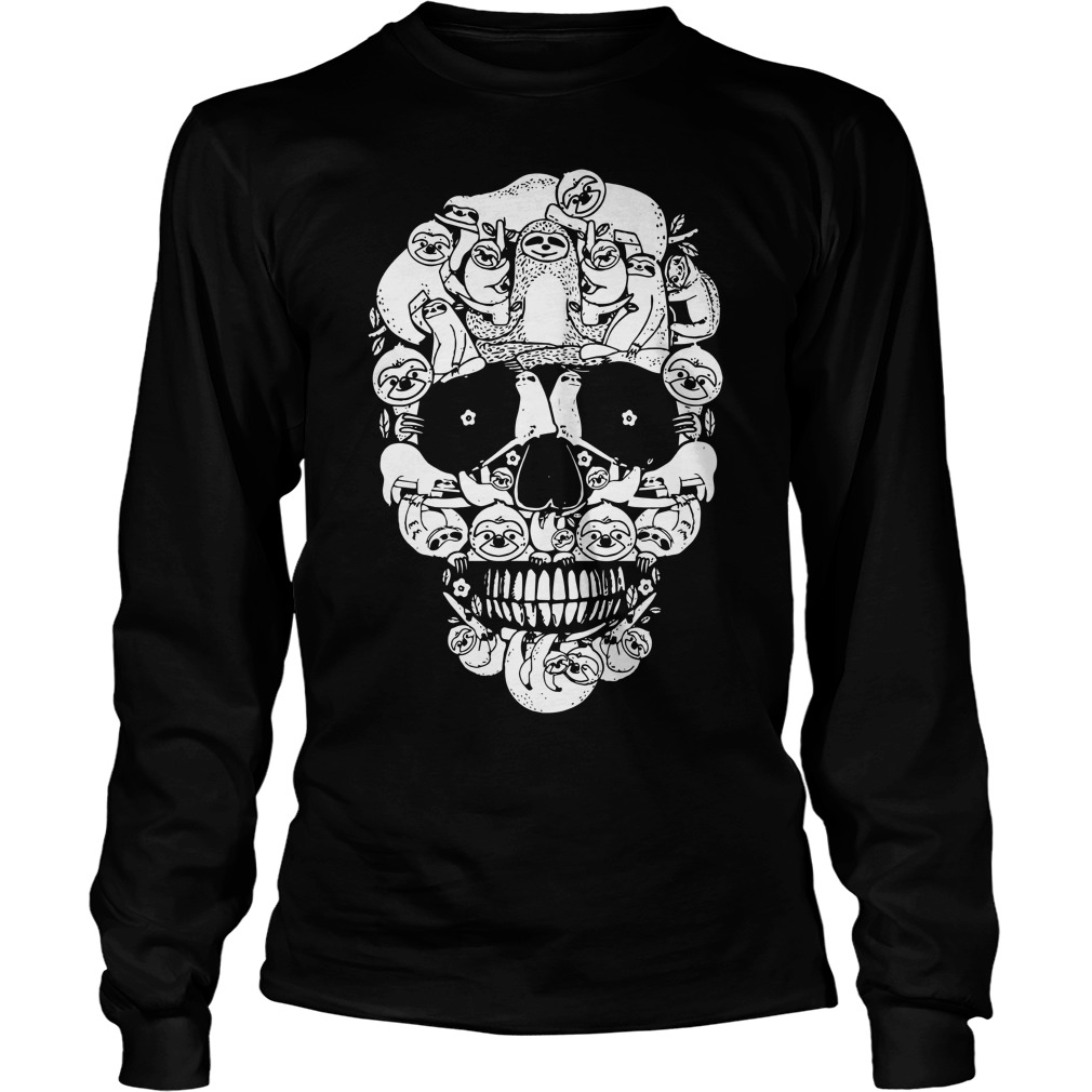 Sloth In The Skull Longsleeve Tee