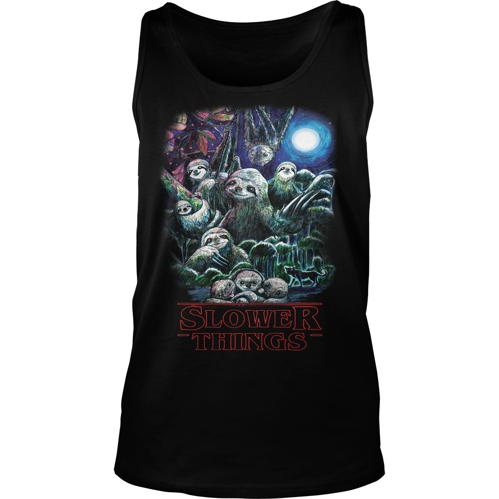 Sloth Slower Things Tank Top