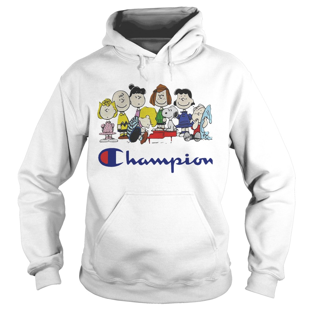Snoopy And Friends Champion Peanuts Hoodie