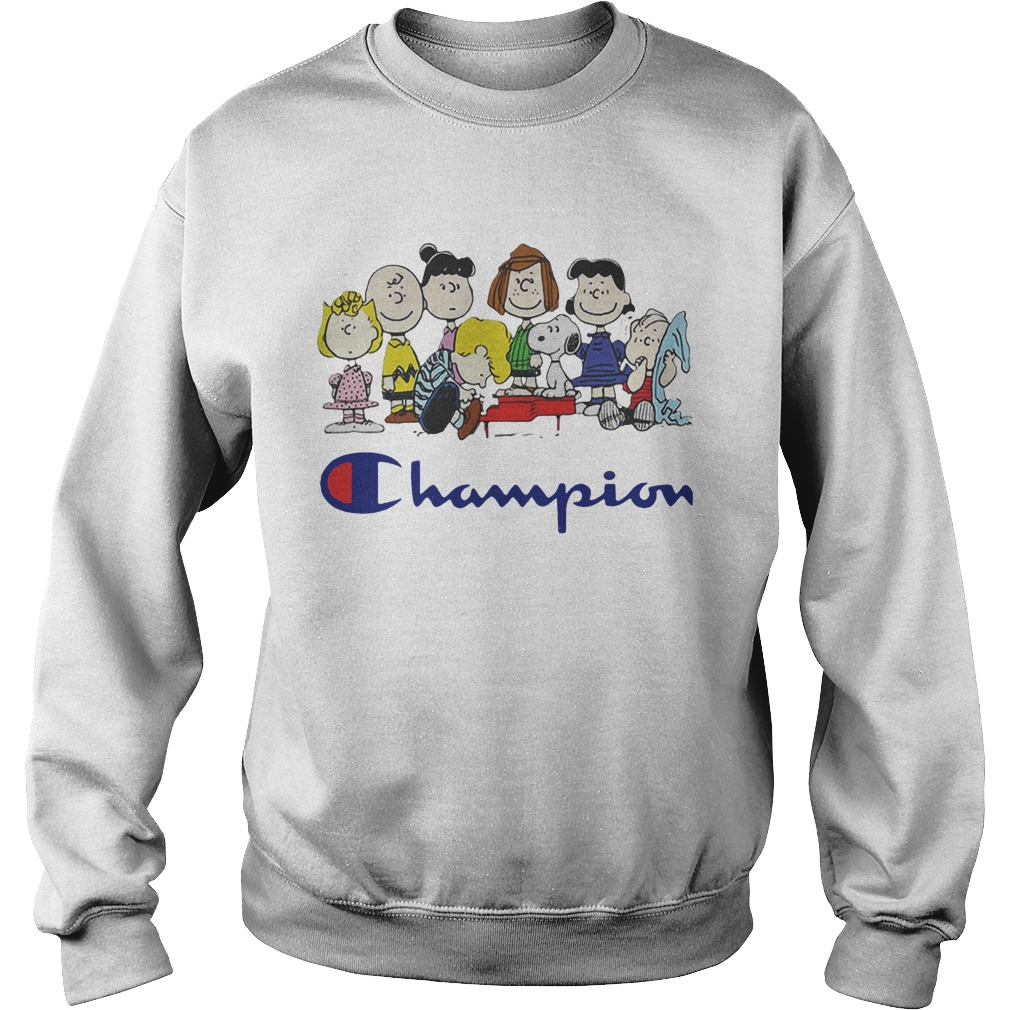 Snoopy And Friends Champion Peanuts Sweater