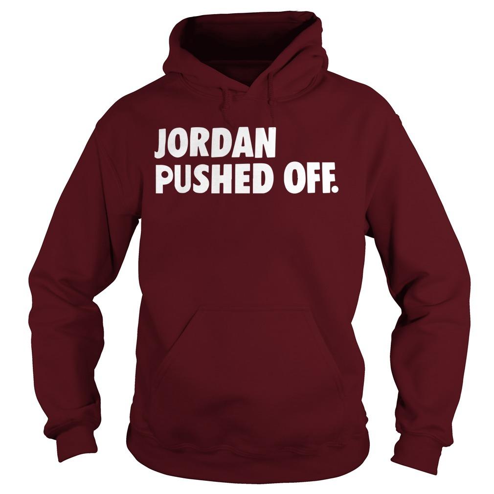 Spencer Cox Jordan Pushed Off Hoodie