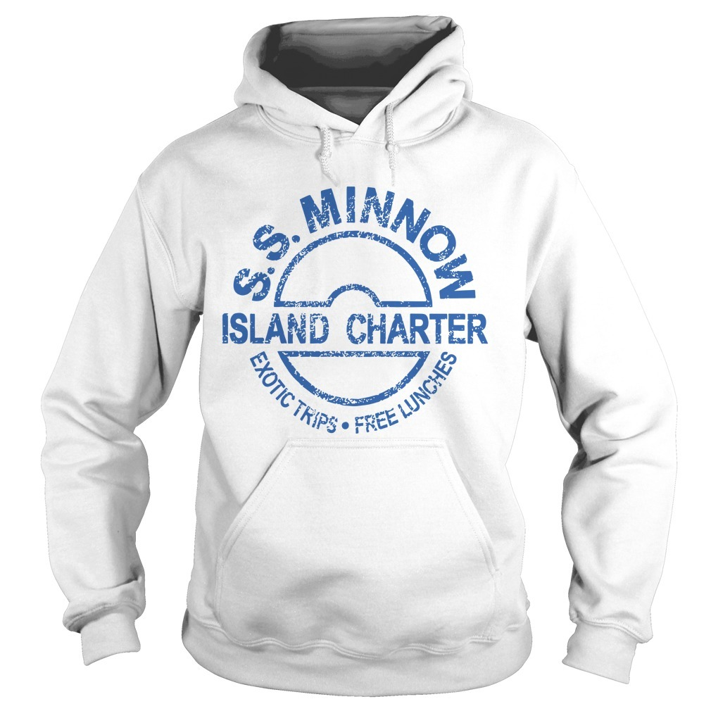 Ss Minnow Island Charter Exotic Trips Free Lunches Hoodie
