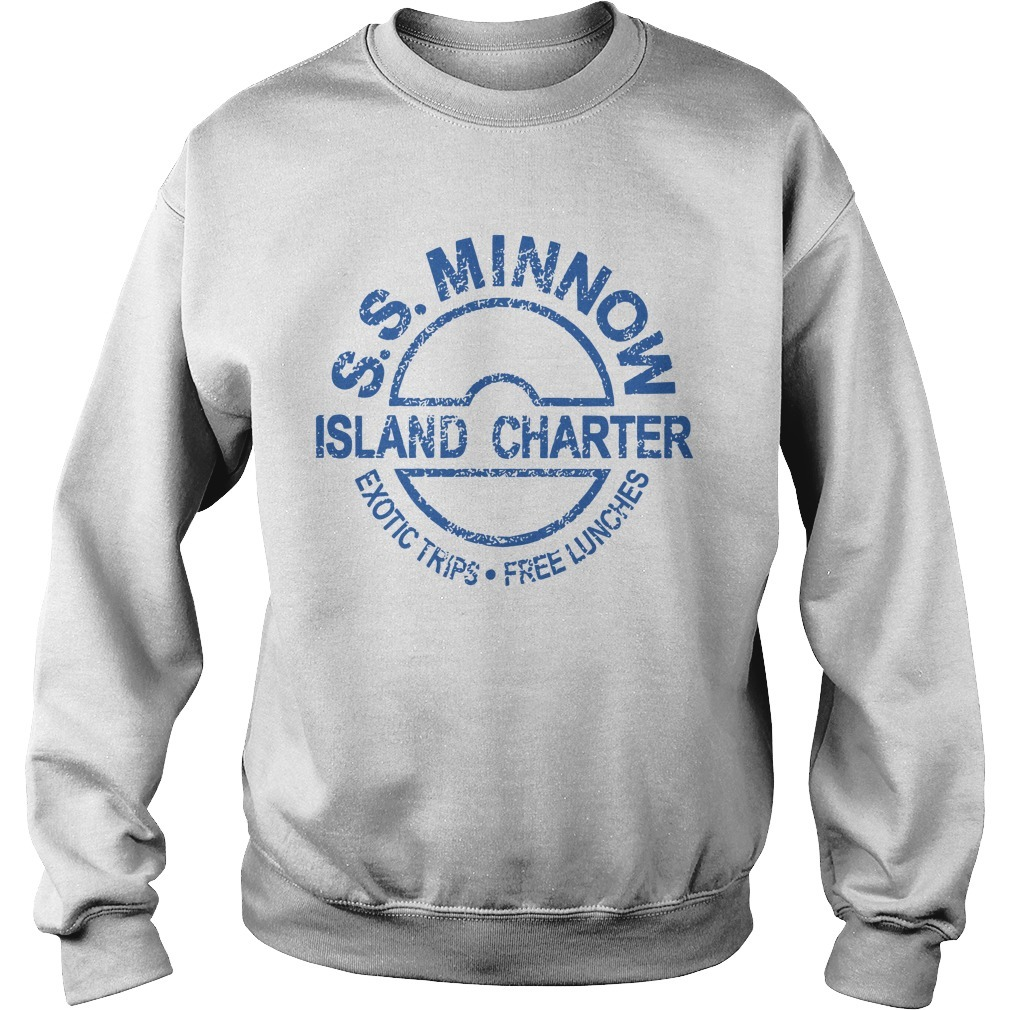 Ss Minnow Island Charter Exotic Trips Free Lunches Sweater