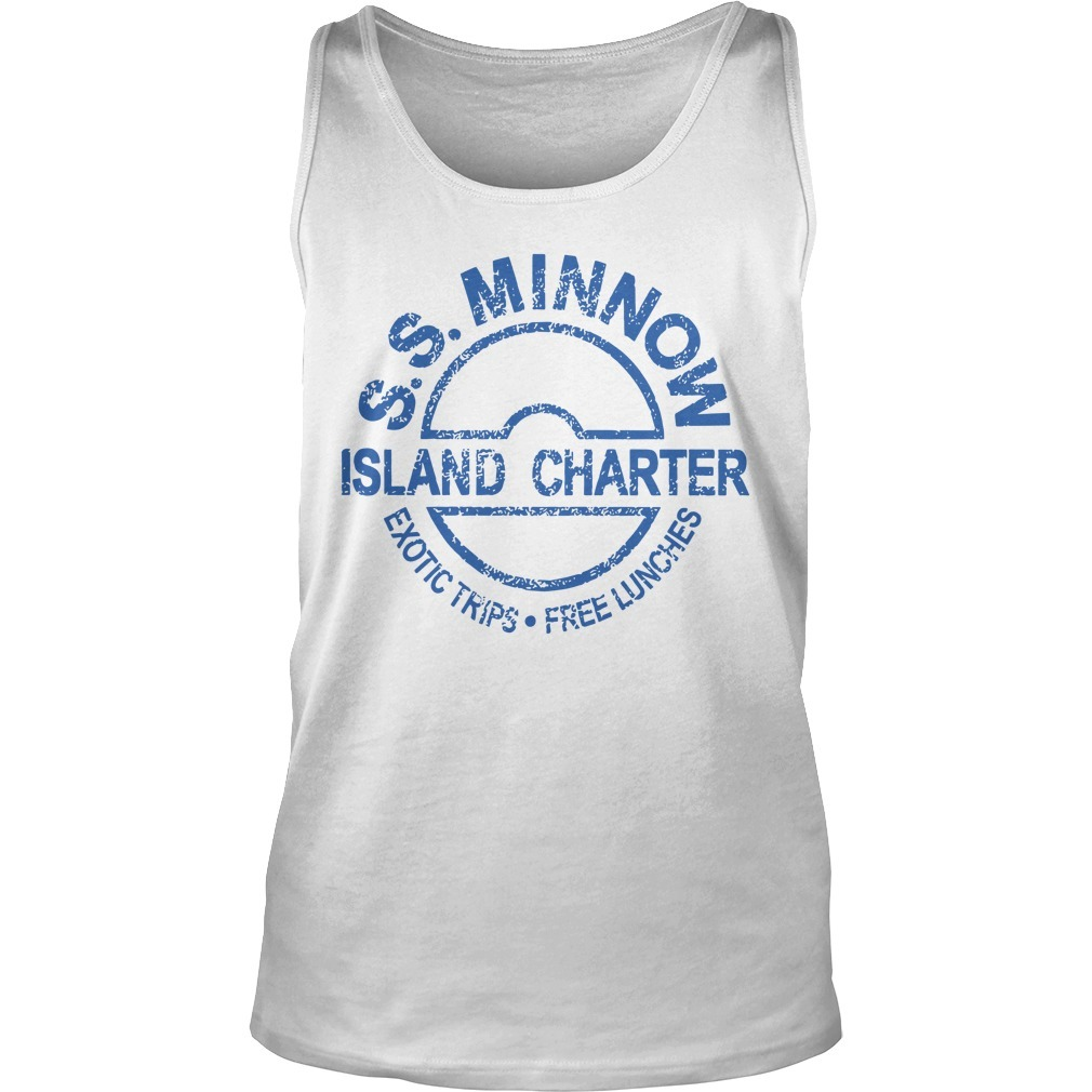 Ss Minnow Island Charter Exotic Trips Free Lunches Tank Top