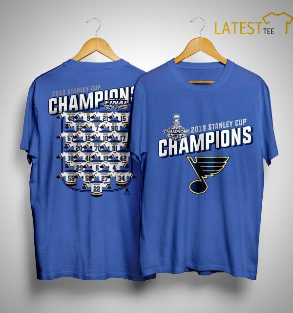 St Louis Blues Championship Shirt