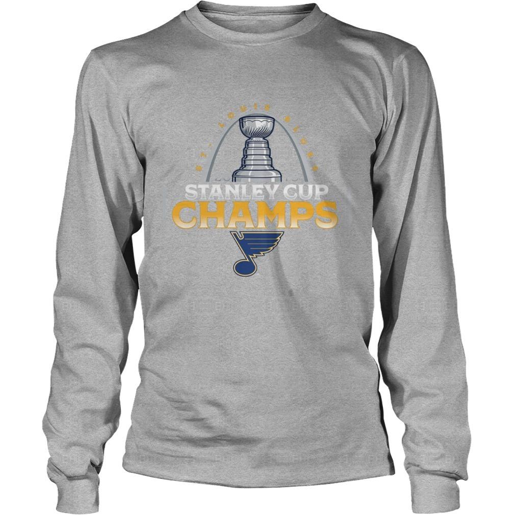 St Louis Blues Stanley Cup Champions Longsleeve Tee