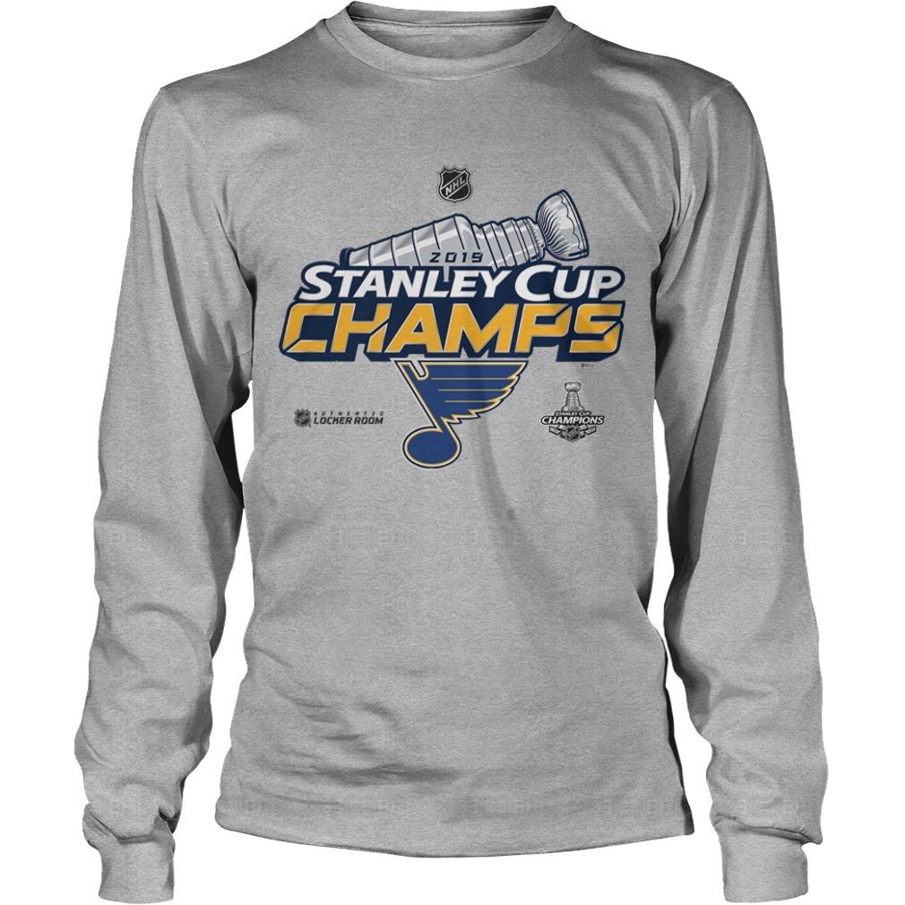St Louis Blues Stanley Cup Long Sleeve Tee