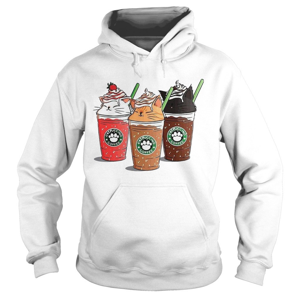 Starbuck Catpuccino Coffee Hoodie