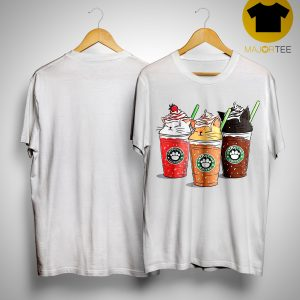 Starbuck Catpuccino Coffee Shirt