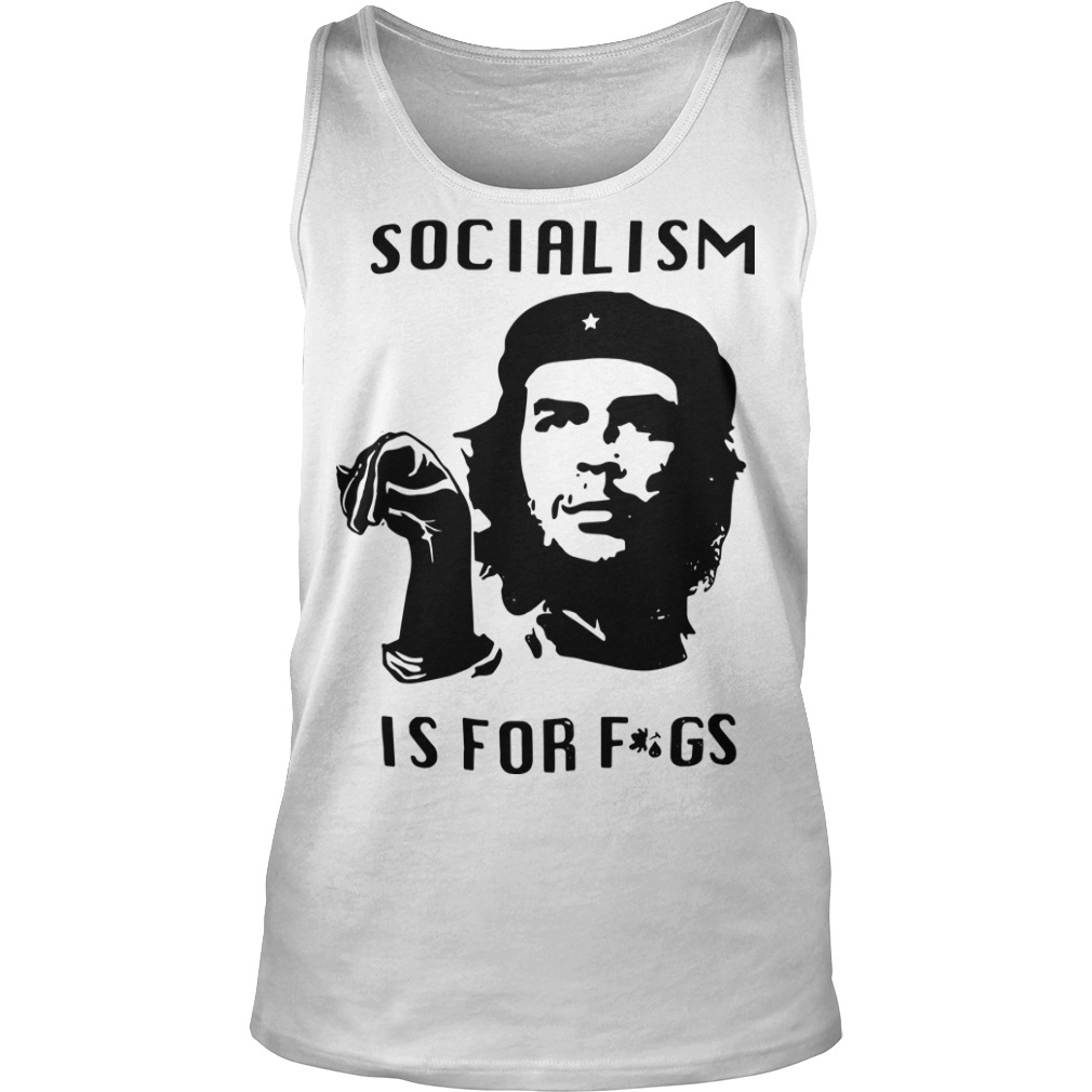 Steven Crowder Socialism Is For Fags Tank Top