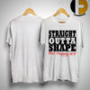 Straight Outta Shape But Happy AF Shirt