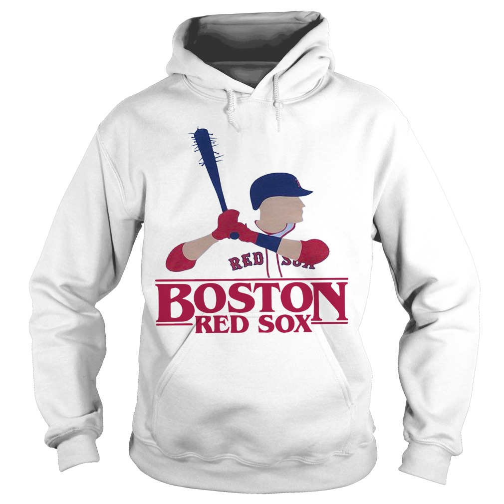 Stranger Things Night Boston Red Sox Hoodie