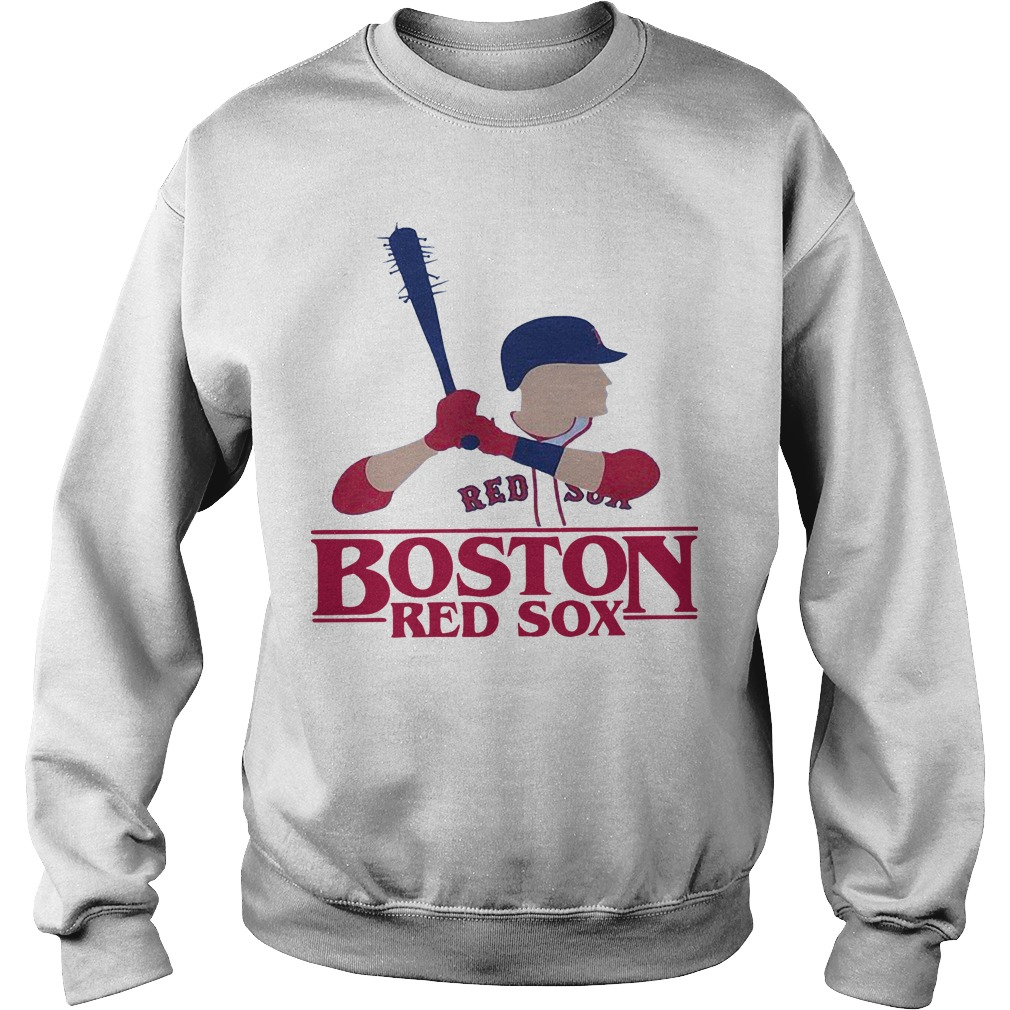 Stranger Things Night Boston Red Sox Sweater