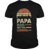 Sunset Papa Man Myth Legend Shirt