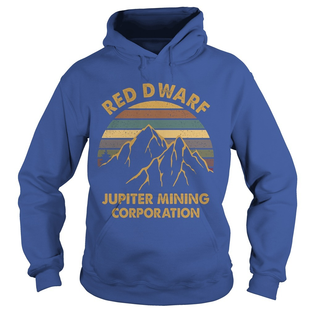 Sunset Red Dwarf Jupiter Mining Corporation Hoodie
