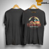 Sunset T Rex Fatherhood Like A Walk In The Park Shirt