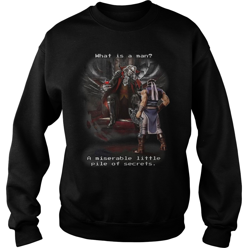Symphony Of The Night What Is A Man A Miserable Little Pile Of Secrets Sweater
