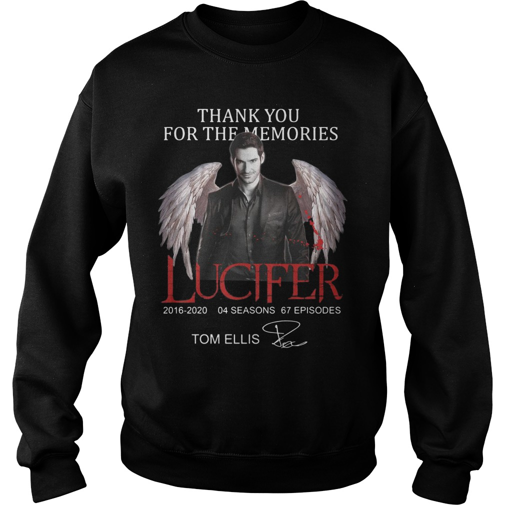 Thank You For The Memories Lucier 2016 2020 04 Seasons 67 Episodes Tom Ellis Sweater